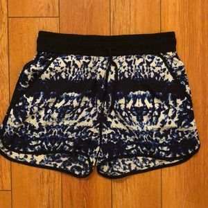 Intermix Silk Shorts